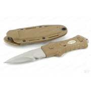 Нож McNett тактика, клинок 7,62 см, цвет Coyote