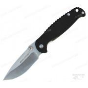 Нож Sanrenmu Real Steel, лезвие 95 мм, рукоять G10 чёрная, крепление на ремень