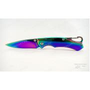 Нож Tekut Dapper серии Fashion, лезвие 59 мм, рук - нерж сталь