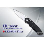 Нож Tekut Flyer серии Outdoor, лезвие 83 мм, рукоять - алюминий с вставками G10