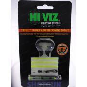 Мушка Hiviz оптоволоконная TriViz Combo Sight