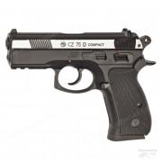 Пистолет пневматический CZ-75 compact подвижный затвор