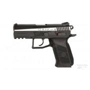 Пистолет пневматический CZ-75 P-07 DUTY DT, двуцветный, blowback