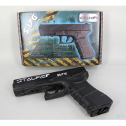 "Пистолет пневматический Stalker S17G (аналог ""Glock17"") кал. 4,5 мм, металл-пластик, 120 м/с"