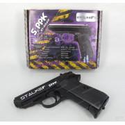 "Пистолет пневматический Stalker SPPK (аналог ""Walther PPK/S"") калибр 4,5 мм, металл, 120 м/с"