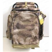 Рюкзак AVI-Outdoor Fiskare A-Tacs с раскладным стулом на 50 литров (камуфляжный)