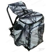Рюкзак AVI-Outdoor Hagle Snow Camo на 45 литров со встроенным стульчиком