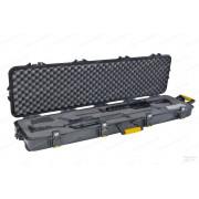 Кейс Plano на 2 оружия -138*40*15 см. водонепроницаемый, 2 замка/6 запоров, клапан давления, колесики