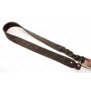 Ремень для ружья Vektor из натуральной кожи и застёжкой запанкой