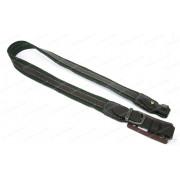 Ремень для ружья Vektor шириной 35 мм, кожаными накладками и застежкой на кобурной кнопке