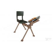 Машинка для метания тарелочек с сиденьем