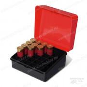 Коробка Plano для 25 патронов, калибр 12 и 16