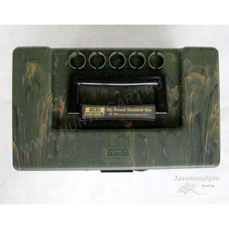 Ящик MTM для 100 патронов 12 калибра, SF-100-12-09 (MAL325)