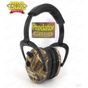 Наушники активные Predator Gold камуфляжные стерео, складные