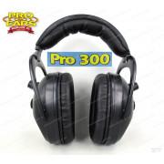 Наушники активные Pro 300 чёрные стерео, складные