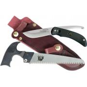 Набор OUTDOOR EDGE Swingblade-Pak - нож Swingblade и пила Kodi Saw, кожаные ножны