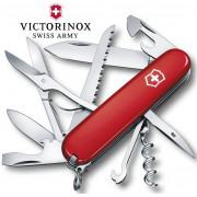 Складной Нож Victorinox Huntsman (1.3713), 91мм, 15 ф., красный
