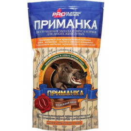 Приманка PROHunterFisher для диких животных, вкус ФРУКТОВЫЙ (кабан, олень, медведь, лось) 2 кг