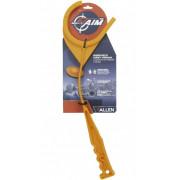 Рукоять для метания тарелочек ALLEN EZAIM, ручная, пластик, оранжевая 22701