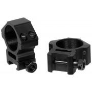 Средние кольца Leapers AccuShot 30 мм на Weaver, STM, RGWM-30M4