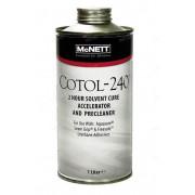 Состав COTOL-240 очиститель и ускоритель застывания клея, 1 л , канистра, McNETT