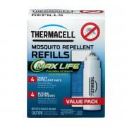 Комплект материалов для Thermacell Long Life (4 пластины ув.времени горения + 4 баллона), MR L4