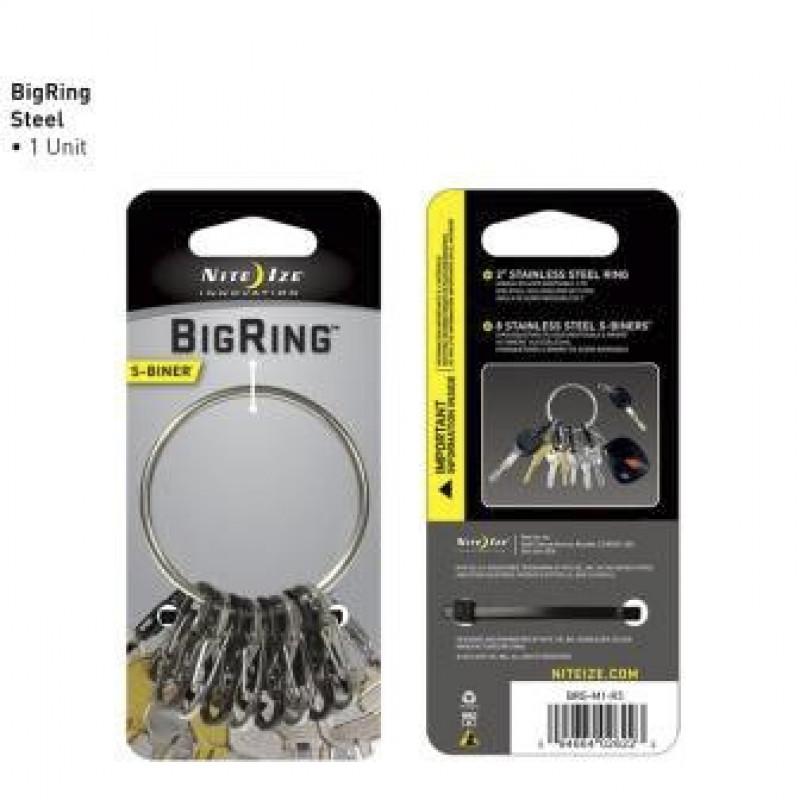 Брелок BigRing Steel