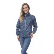 Elle куртка женская Dotty Navy (тёмно-синий в белый горошек)