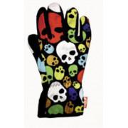 Gloves plain перчатки 231 happy skulls