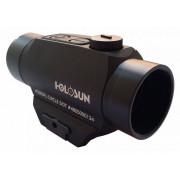 Коллиматор Holosun Micro на Weaver/Picatinny, точка/круг 2/65МОА, 11 подсв. (+NV), внешн.бат., 128гр HS503FL