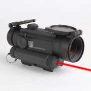 Коллиматор Holosun Infiniti на Weaver-Picatinny + лазер 650 нм