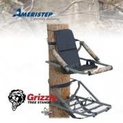 Лабаз-самолаз AMERISTEP Grizzly (комплект), стальной профиль, камуфляжная расцветка RealTree® AP