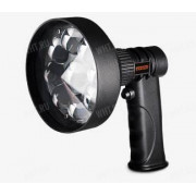 Ручной светодиодный аккумуляторный прожектор DEBEN Tracer Sport LED (9 LED) + Красный светофильтр