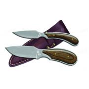 Набор из двух разделочных ножей OUTDOOR EDGE Dark Timber Combo