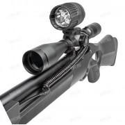 Оружейный светодиодный фонарь DEBEN Tri-Star PRO VP в комплекте с аккумулятором и з/у