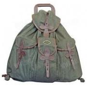 Бесшумный шерстяной рюкзак Akah с кожаной окантовкой на карманах, водостойкий