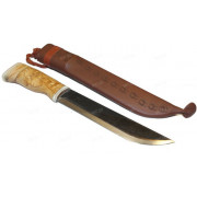 Большой охотничий нож-мачете ручной работы, Wood Jewel (Финляндия)
