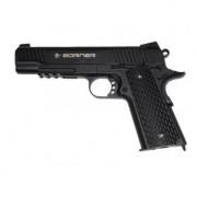 Пистолет пневм. BORNER KMB77 (blowback), кал. 4,5 мм