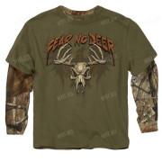 Толстовка подростковая BUCK WEAR Fear No Deer