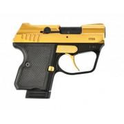 Пистолет ООП WASP Grom кал. 9мм (золотое. покрытие)
