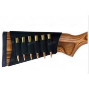 Наприкладный патронташ на 6 винтовочных патронов Outdoor Connection (чёрный)