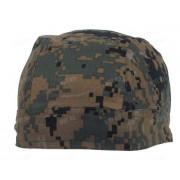 Бандана тактическая MFH Headwrap, камуфляж - Digital Woodland