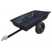 Прицеп к квадроциклу с кузовом 1850х1150х350 мм (с арками под колеса) (Россия)