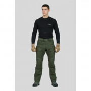 Городские тактические брюки Giena Tactics URBAN WARRIOR, цвет - Black (черный)