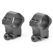 Небыстросъемные кольца SportsMatch-UK на базу Picatinny/Weaver, 30 мм