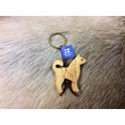 "Брелок деревянный ""Собака"", Wood Jewel (Финляндия)"