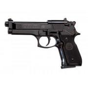 Пистолет пневм. Beretta M92 FS (чёрн. с чёрн. пласт. накладками)