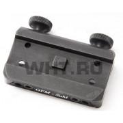 Быстросъемный кронштейн Suhl Aimpoint Micro на планку 5.5-6.8 мм (ИЖ/MP)