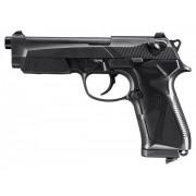Пистолет пневм. Beretta 90 Two Black (чёрн. с чёрн. пласт. накладками) кал.4,5 мм