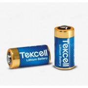 Литиевая батарейка CR123, 3V, TEKCELL